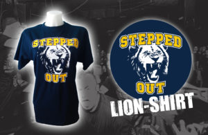 Stepped Out Lion-shirt